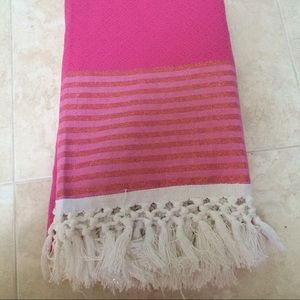 Lilly Pulitzer for Target Pink Beach Blanket